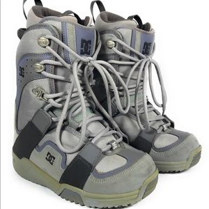 DC Phase Snowboard Boots - Gray - Lace Up Strap In